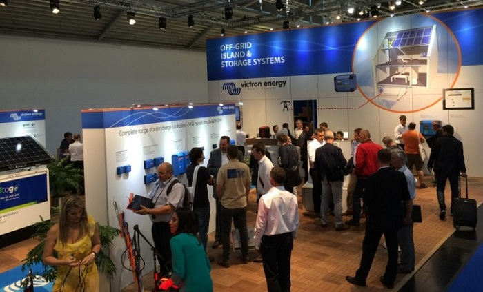 Стенд Victron Energy на выставке Intersolar 2014