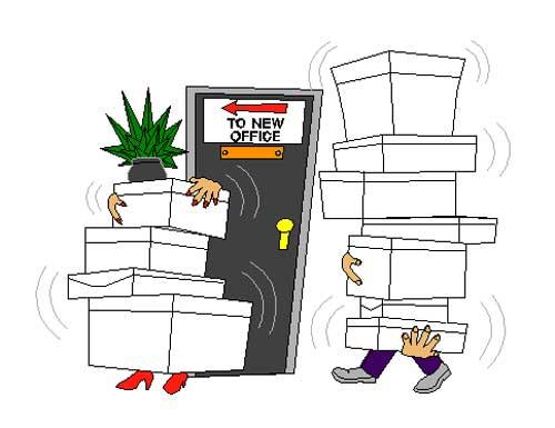 Прикольные картинки про переезд офиса